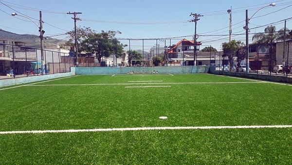 80da76e520 Construção de campo de futebol society - AX3 Esportes