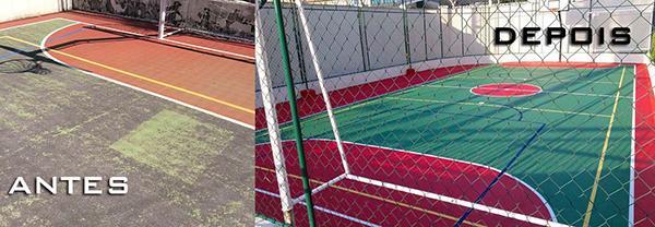 b911c86881625e Manutenção de quadras esportivas; Manutenção de quadras esportivas ...
