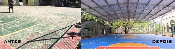 1daf95ffb24ae9 Manutenção de quadras esportivas - AX3 Esportes