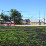 Instalação de grama sintética