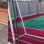 Manutenção de quadras esportivas