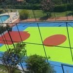 Pintura de quadras poliesportivas