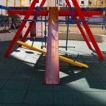 Piso de borracha para playground preço